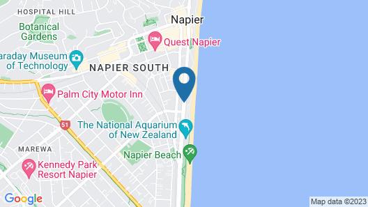 Shoreline Motel Map
