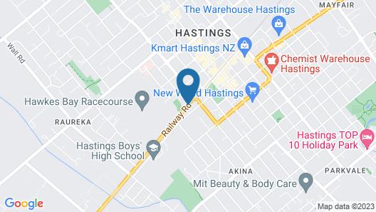 Apple Motor Inn Map