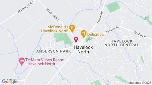Havelock North Motor Lodge Map