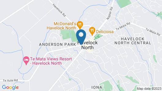Village Motel Map