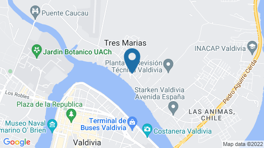 Hotel Marina Villa del Rio Map