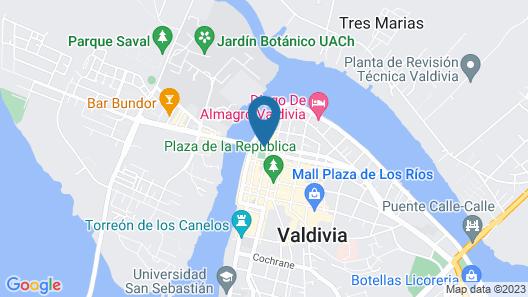 Hotel Dreams Pedro de Valdivia Map