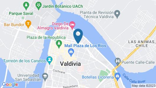Hotel Melillanca Map