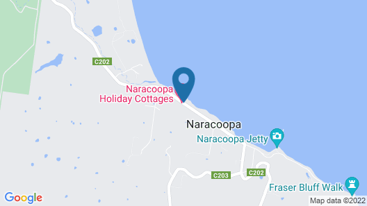 King Island Accommodation Cottages Map