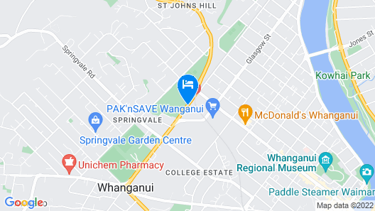 151 on London Motel Map