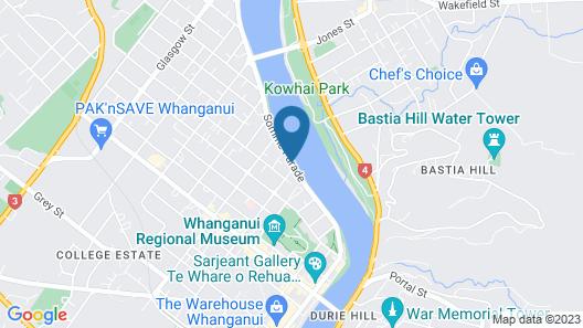 Riverview Motel Map