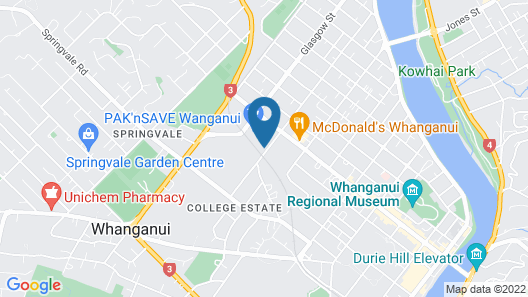 Quality Inn Collegiate Map