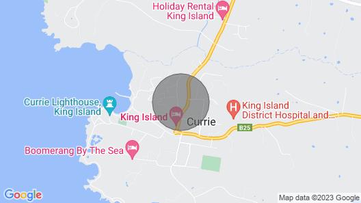 George's on Huxley - King Island Map
