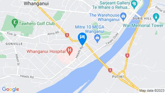 Fiesta Court Motel Map