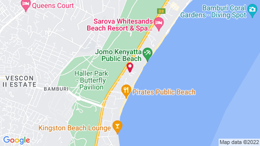 Azul Margarita Beach Resort Map