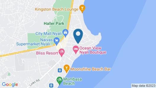 Fenns Cozy Residences - Nyali Map
