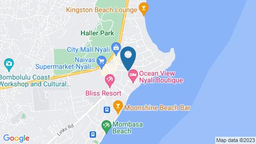 Pine Breeze Holiday Resort Map