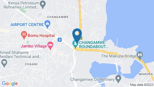 Shiloh Accommodation Map