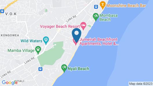 Jumeirah Beachfront Apartments Map