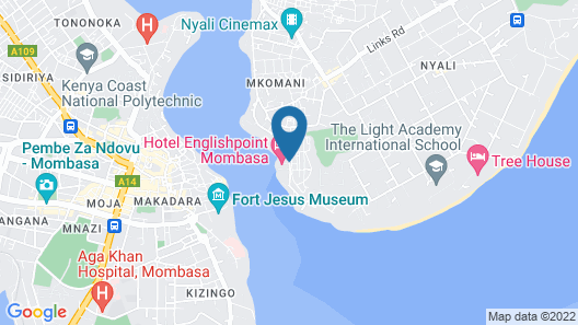 Hotel EnglishPoint & Spa Map