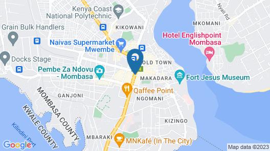 Whitesun Safari Hotel Map