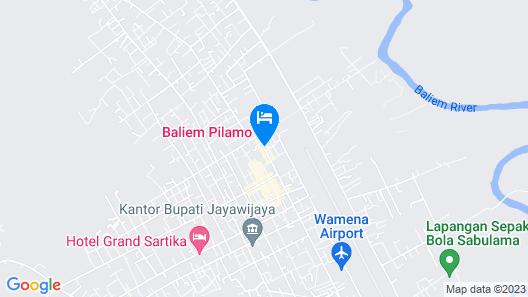 Baliem Pilamo Map