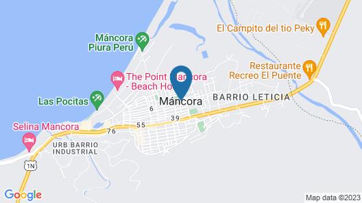 Casa Barco Mancora Map