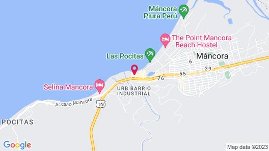 Don Giovanni Máncora Map