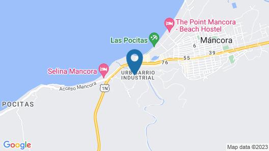 Casa Aura del Mar Map