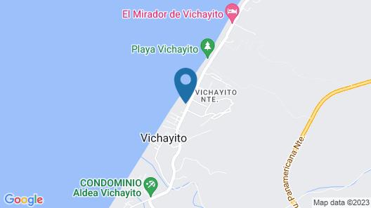 Ecolodge Beach - Alma Loft Map