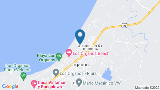 Spondylus Beach House I Map