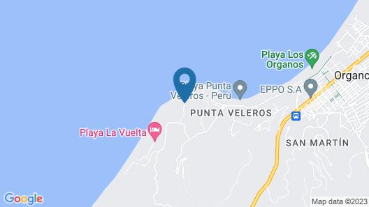 La Playa Map