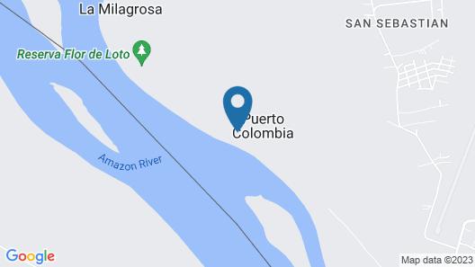 Kurupira Cabin Floating Map