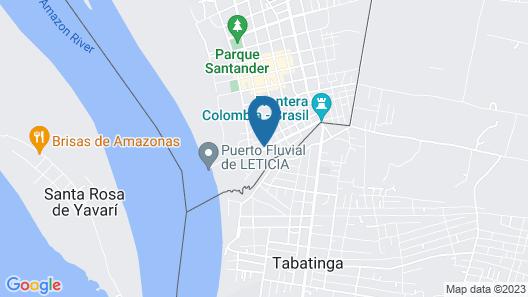 Ayahuasca Amazonas Map