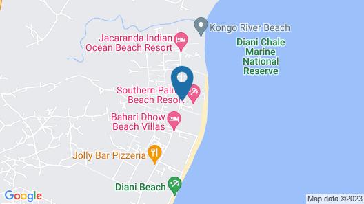 Southern Palms Beach Resort Map