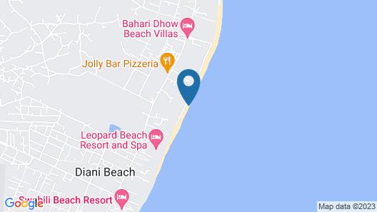 Diani Beachalets Map