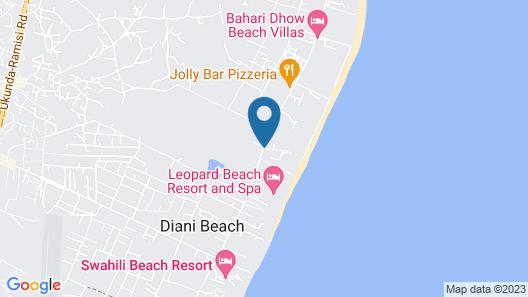 Leisure Lodge Beach & Golf Resort Map