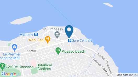 Beatrice Hotel Map