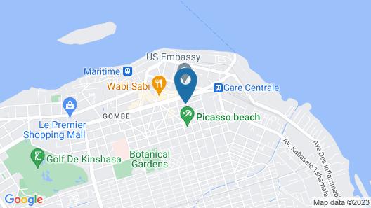 Leon Hôtel Map