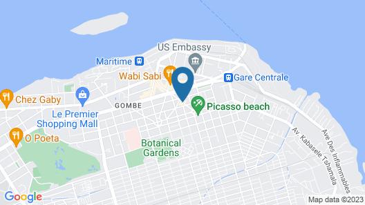 Hotel Memling Map