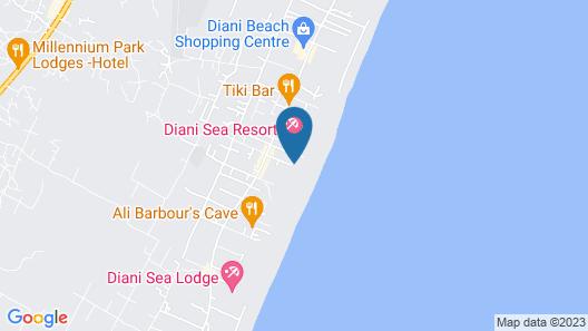 Waterlovers Beach Resort Map