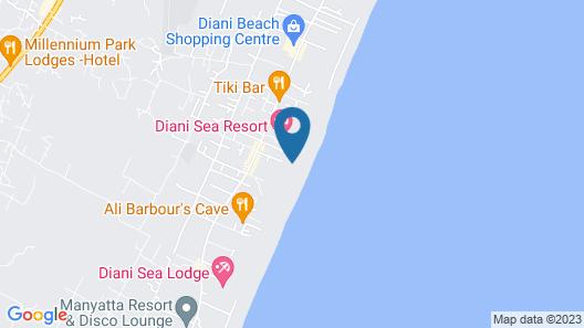 Diani Sea Resort Map