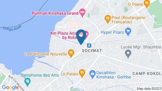 Flat Hotel Kandolo Gombe Map