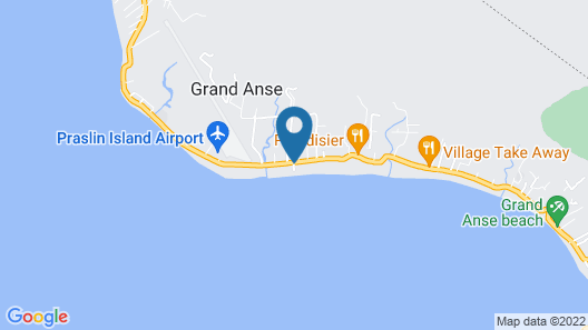 Seashell Beach Villa Map