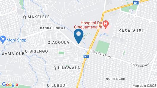 Adeva apartment Cité Kin Oasis****(secured) Map