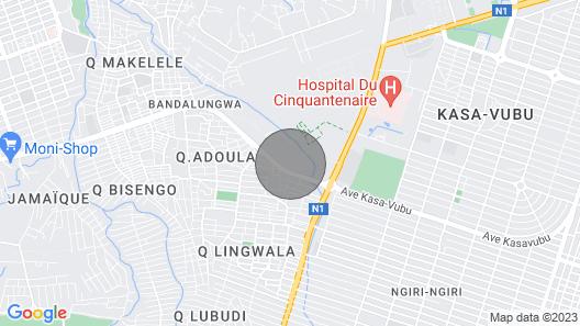 Adeva Apartment Cité Kin Oasis Map