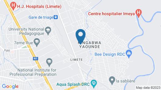 Ixoras Hotel Map