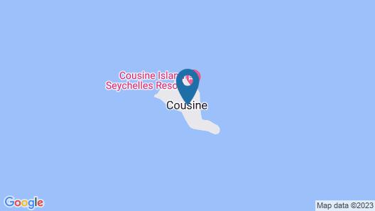 Cousine Island - All Inclusive Map
