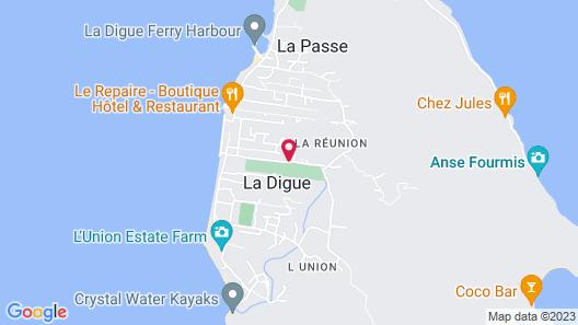 Casa De Leela Map