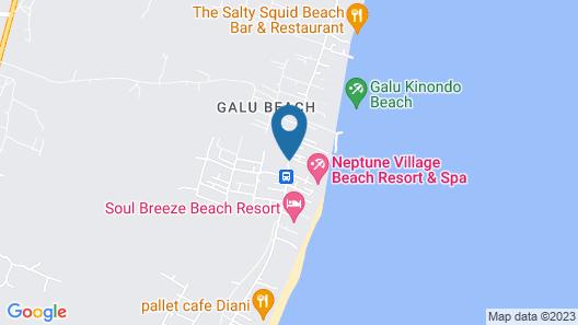 Neptune Paradise Beach Resort & Spa Map