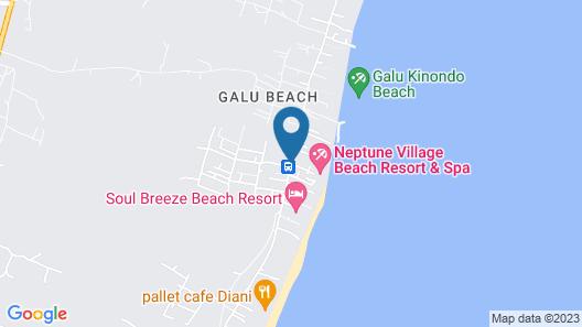 Neptune Palm Beach Boutique Resort & Spa All Inclusive Map
