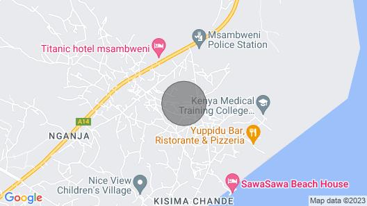 Wimbi Reef Beach House Map