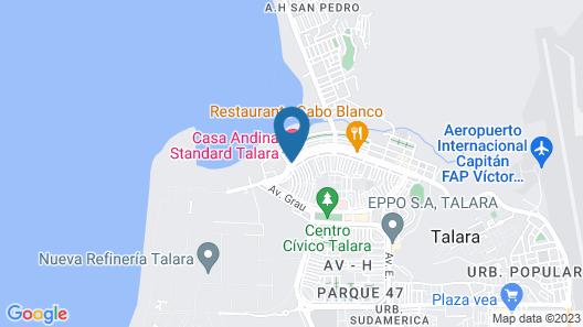 Casa Andina Standard Talara Map
