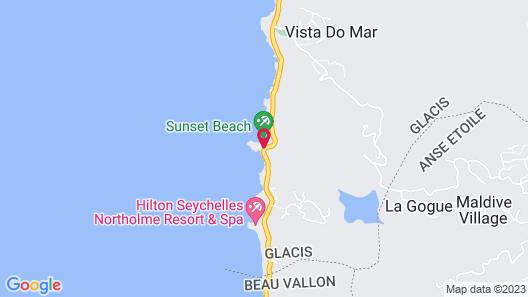 Sunset Beach Hotel Map