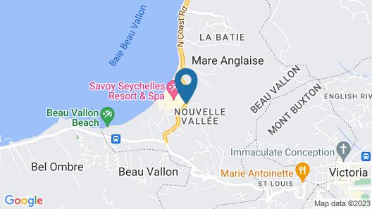 Savoy Resort & Spa Map